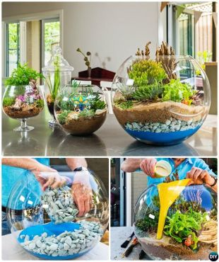 Magical And Best Plants DIY Fairy Garden Inspirations 75