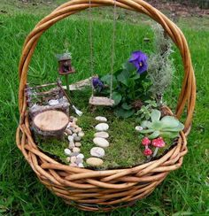 Magical And Best Plants DIY Fairy Garden Inspirations 99