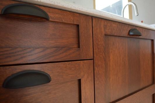 Modern Walnut Kitchen Cabinets Design Ideas 16