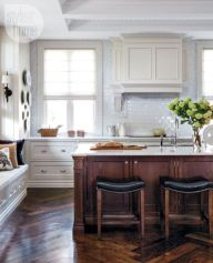 Modern Walnut Kitchen Cabinets Design Ideas 20