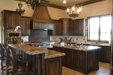Modern Walnut Kitchen Cabinets Design Ideas 36