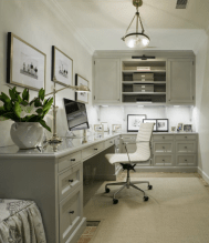 Office Built In Cabinets Ideas 13