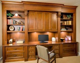 Office Built In Cabinets Ideas 15