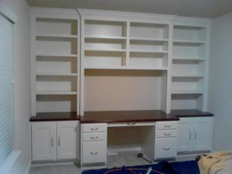 Office Built In Cabinets Ideas 24