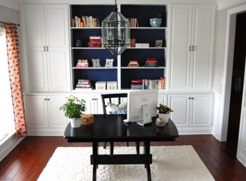 Office Built In Cabinets Ideas 3