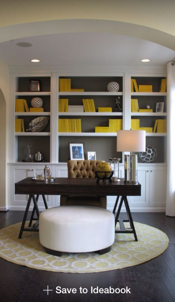 Office Built In Cabinets Ideas 34
