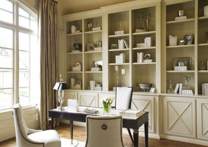 Office Built In Cabinets Ideas 36