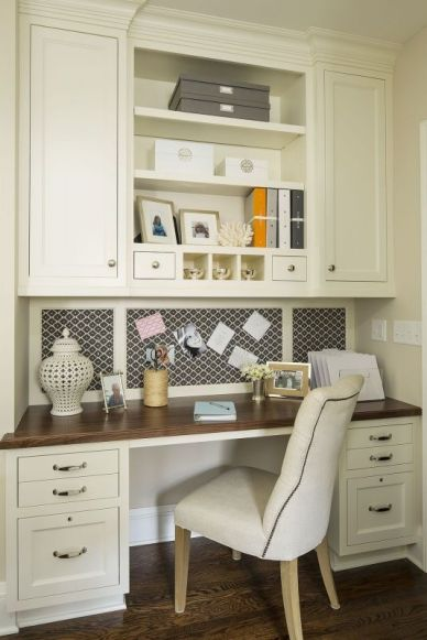 Office Built In Cabinets Ideas 38