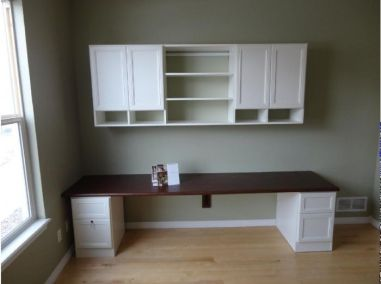 Office Built In Cabinets Ideas 42