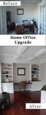 Office Built In Cabinets Ideas 46