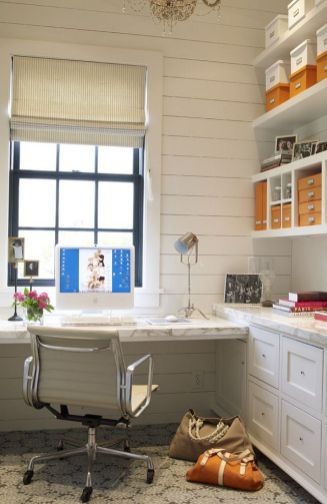 Office Built In Cabinets Ideas 48