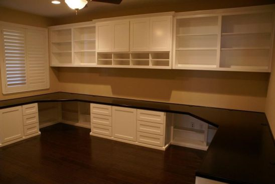 Office Built In Cabinets Ideas 57