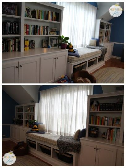 Office Built In Cabinets Ideas 6
