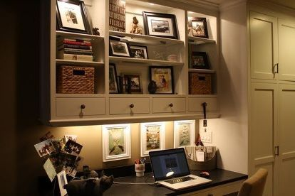 Office Built In Cabinets Ideas 65
