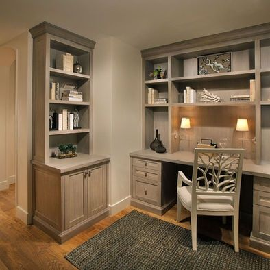 Office Built In Cabinets Ideas 67
