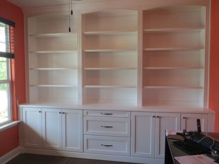 Office Built In Cabinets Ideas 69