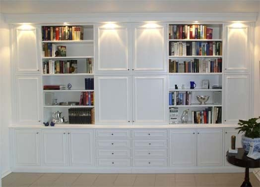 Office Built In Cabinets Ideas 7