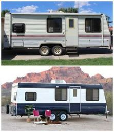 RV Hacks, Remodel And Renovation Ideas That Will Make You A Happy Camper46