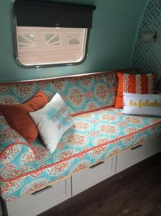 RV Hacks, Remodel And Renovation Ideas That Will Make You A Happy Camper56