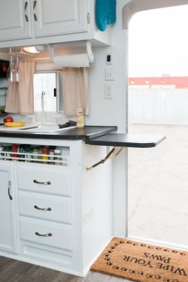 RV Hacks, Remodel And Renovation Ideas That Will Make You A Happy Camper59
