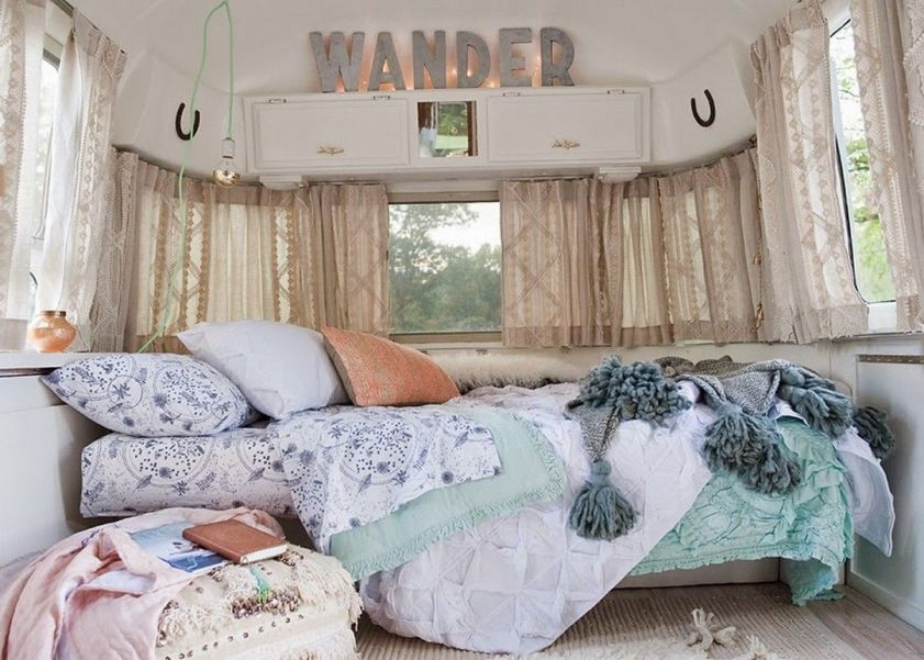 RV Hacks, Remodel And Renovation Ideas That Will Make You A Happy Camper76