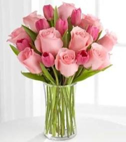 Tulips In Vase 14