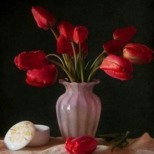Tulips In Vase 8
