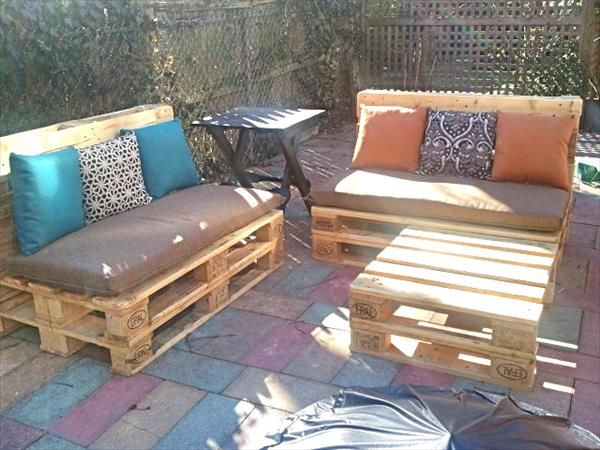 Wood Pallet Furniture 33