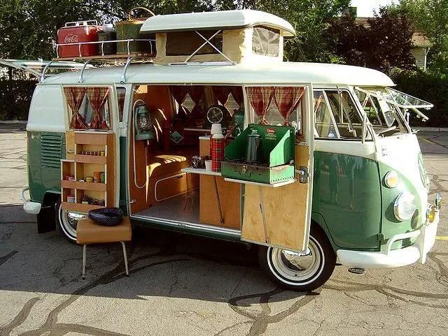 Camper Van Interior Ideas 15