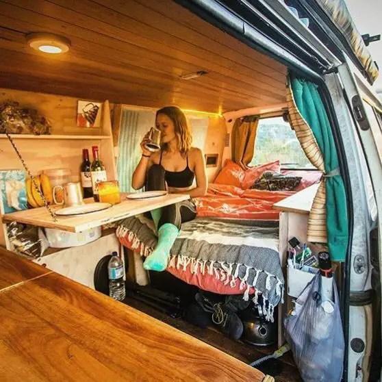 Camper Van Interior Ideas 19 - decoratoo