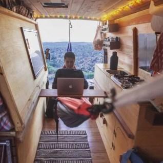 Camper Van Interior Ideas 26