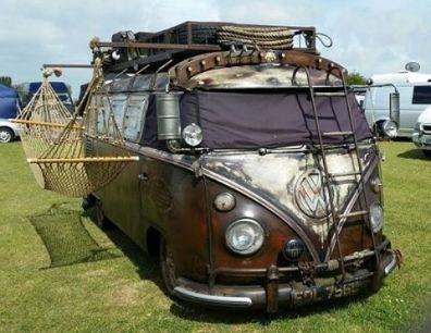 Camper Van Interior Ideas 30