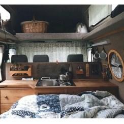 Camper Van Interior Ideas 34