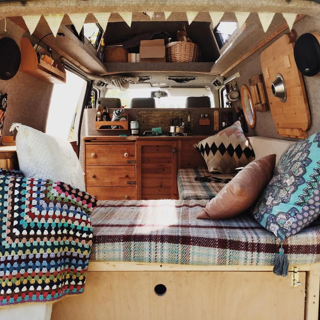 Camper Van Interior Ideas 41