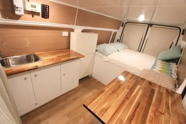 Camper Van Interior Ideas 50