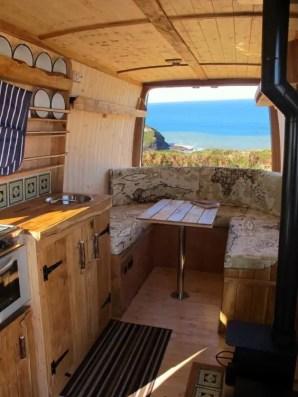 Camper Van Interior Ideas 62