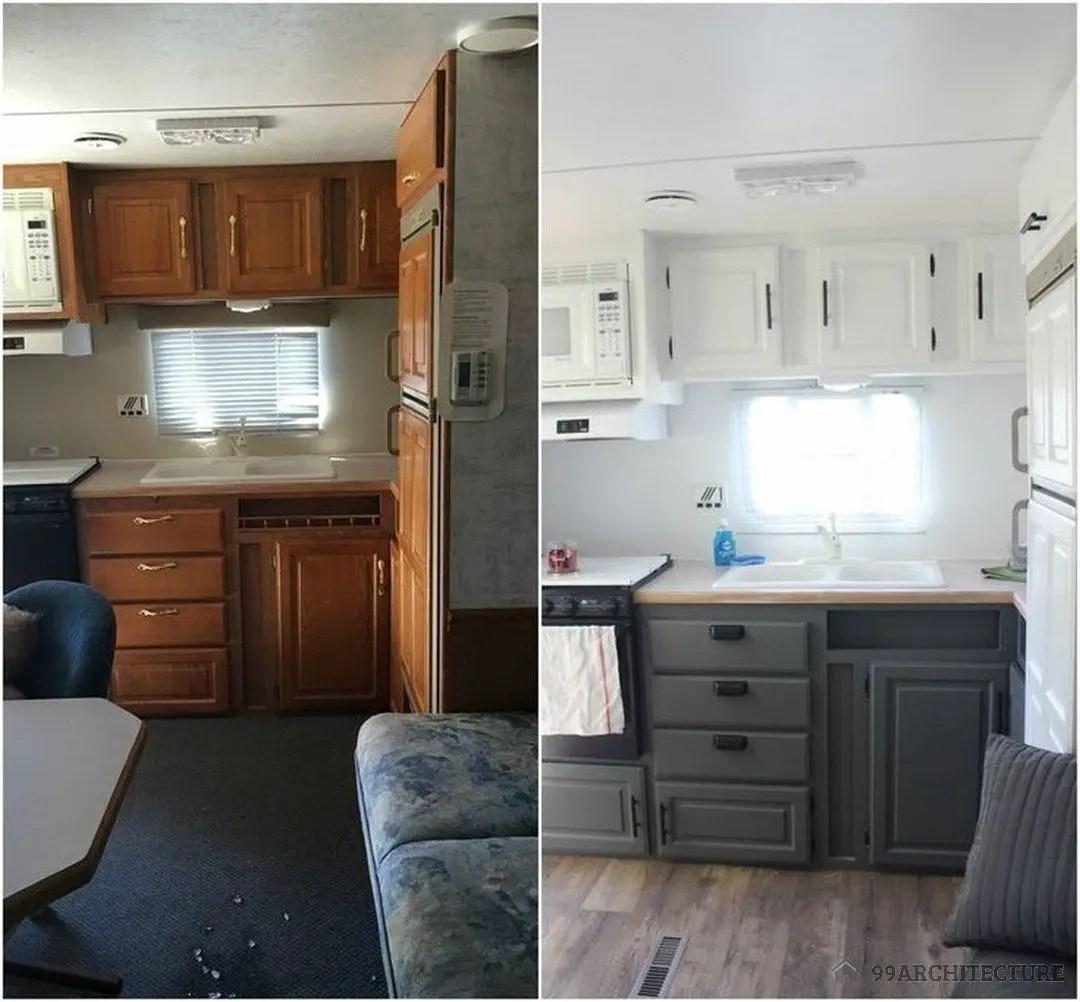 Camper Van Interior Ideas 72
