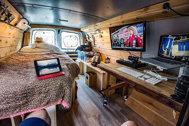 Camper Van Interior Ideas 9
