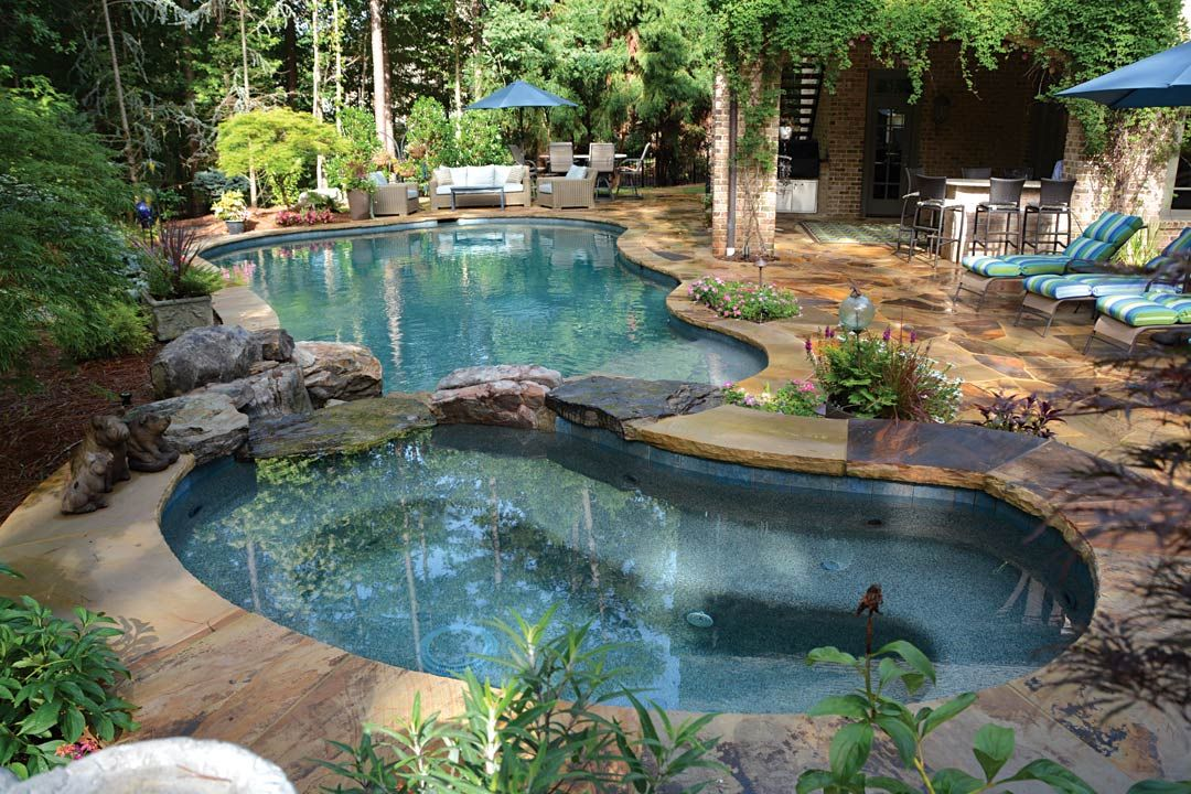 Beautiful Backyards With Pools 100
