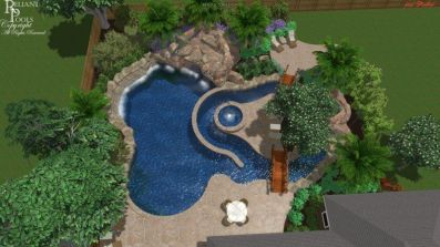 Beautiful Backyards With Pools 75