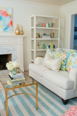 Bright Living Room Decor Ideas 148