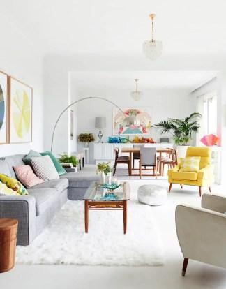 Bright Living Room Decor Ideas 154