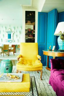 Bright Living Room Decor Ideas 61