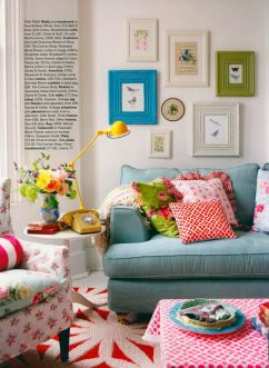Bright Living Room Decor Ideas 64