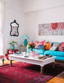 Bright Living Room Decor Ideas 84