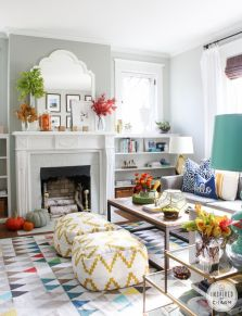 Bright Living Room Decor Ideas 86