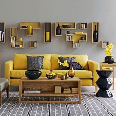 Bright Living Room Decor Ideas 91