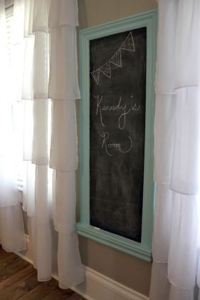 Chalk Wall Bedroom Ideas 1