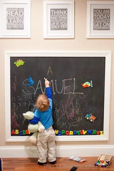 Chalk Wall Bedroom Ideas 104