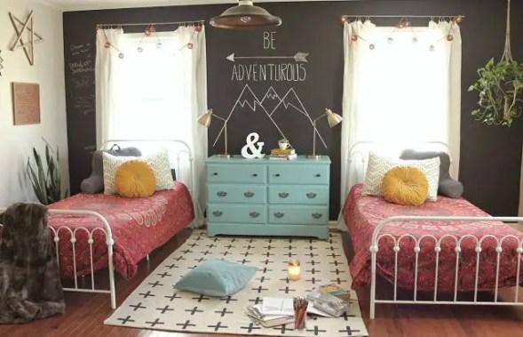 Chalk Wall Bedroom Ideas 107